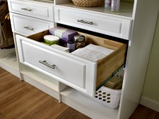 custom closet drawers