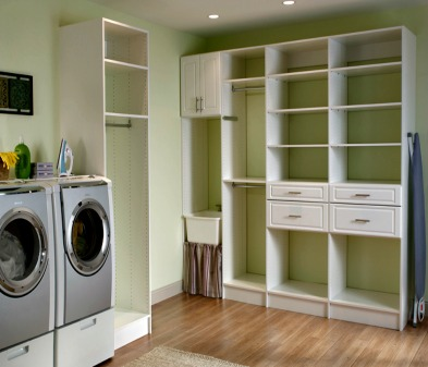 Custom organized laundy room