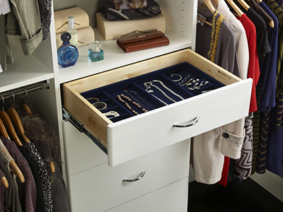 Jewelry insert for drawer
